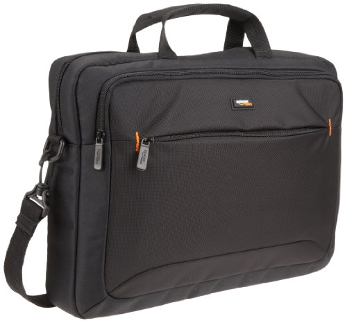 AmazonBasics - Borsa a tracolla per laptop e tablet da 39,6 cm