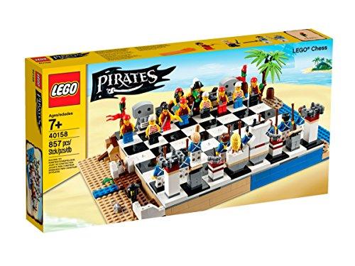 LEGO Pirates Set di Scacchi–Gioco di Costruzioni, Qualsiasi Genere, Multi