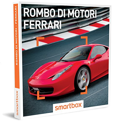 Smartbox - Rombo Di Motori, Ferrari - 112 Esperienze Di Guida Sportiva Su Ferrari, Cofanetto Regalo, Avventura