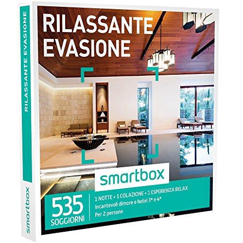 Smartbox - Rilassante Evasione - 535 Soggiorni Con Un'Esperienza Relax In Dimore e Hotel 3* e 4*, Cofanetto Regalo